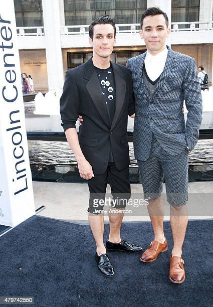 Preston Sadleir and Conrad Ricamora attend Lincoln Center Festival's opening night performance of Danny Elfman's Music From the Films of Tim Burton...