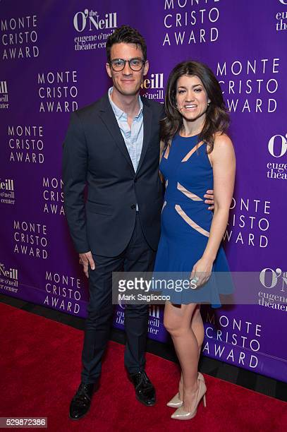 Preston Sadleir and Sarah Stiles attend the 16th Annual Monte Cristo Awards at The Edison Ballroom on May 9 2016 in New York City