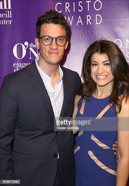 Preston Sadleir and Sarah Stiles attend the 16th Annual Monte Cristo Award ceremony honoring George C Wolfe presented by The Eugene O'Neill Theater...