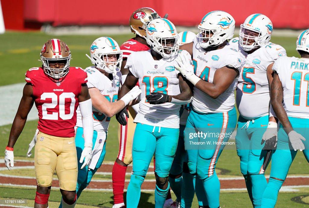 Miami Dolphins v San Francisco 49ers : ニュース写真