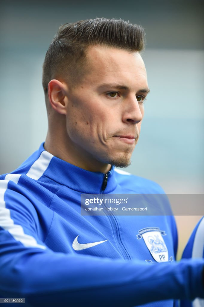 Preston's Billy Bodin during the Sky Bet Championship match between Millwall and Preston North End at The Den on January 13, 2018 in London, England.