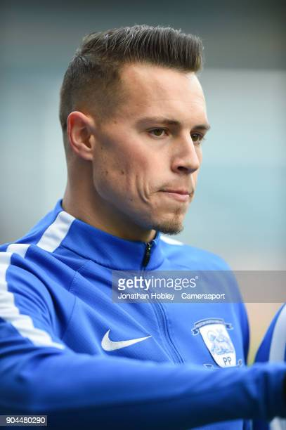 Preston's Billy Bodin during the Sky Bet Championship match between Millwall and Preston North End at The Den on January 13 2018 in London England