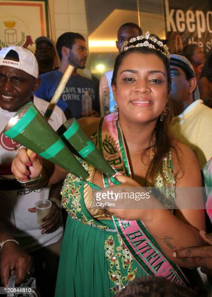 Preta Gil was crowned Queen of Samba School Bateria da Mangueira