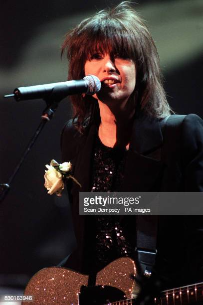 Pretenders singer Chrisse Hynde performs during 'Here There and Everywhere' a charity concert at the Royal Albert Hall in memory of Sir Paul...