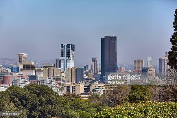 pretoria city skyline - gauteng province stock pictures, royalty-free photos & images