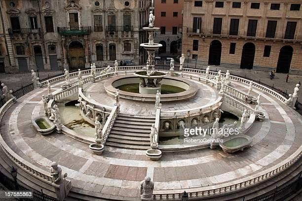 Pretoria fountain at Palermo.