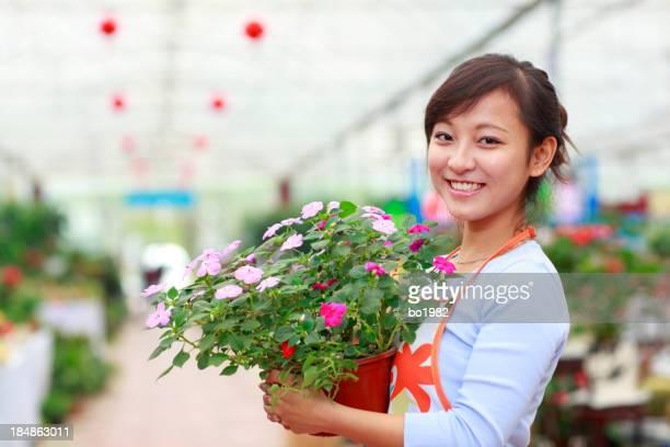 Bonitos Florista em sua loja