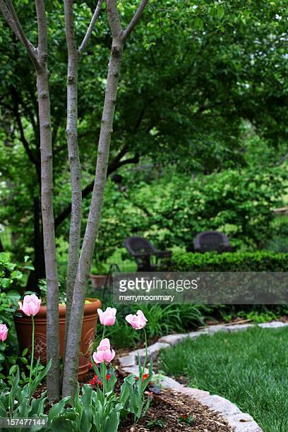 Pretty Garden with Chairs