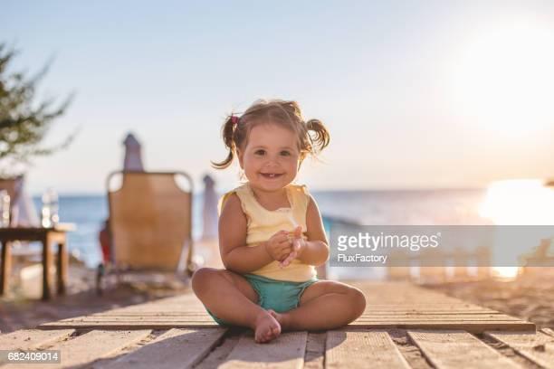 Jolie fille au soleil