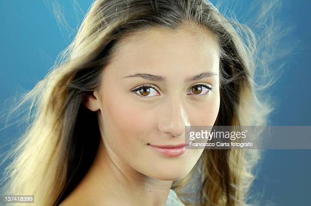 pretty girl with long hair - tempio pausania stock pictures, royalty-free photos & images