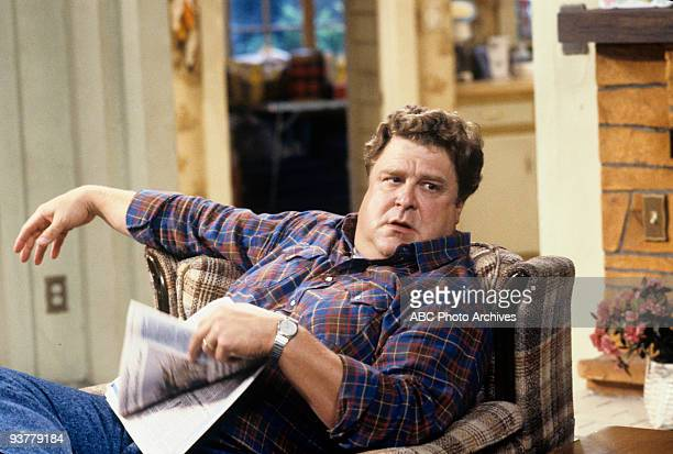 ROSEANNE 'Pretty in Black' Season Five 10/13/92 John Goodman on the ABC Television Network comedy 'Roseanne' Darlene's 16th birthday sees new...