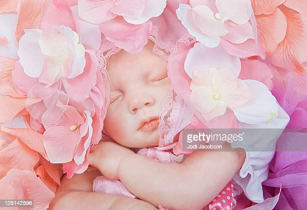 Pretty in Petals newborn girl