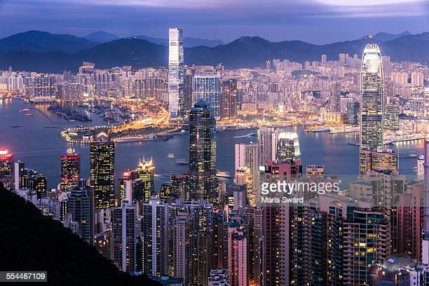 Pretty in pink - Hong Kong, China
