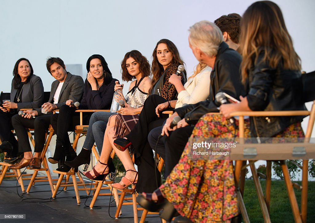 """Freeform's """"Pretty Little Liars"""" and """"Dead of Summer"""" Premiere Event : News Photo"""