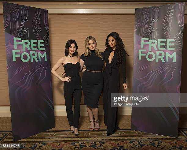 TOUR 2017 'Pretty Little Liars' Session The cast and executive producers of 'Pretty Little Liars' addressed the press at Disney | ABC Television...