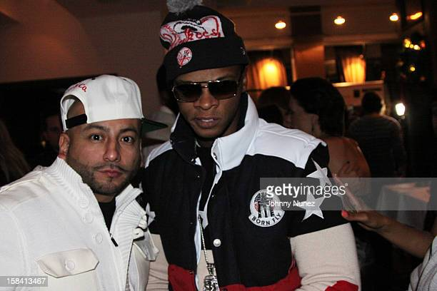 Pretty Lou and Papoose attend the Operation Mob Wives Saving Lives Hurricane Sandy Benefit at Chelsea Manor on December 14, 2012 in New York City.