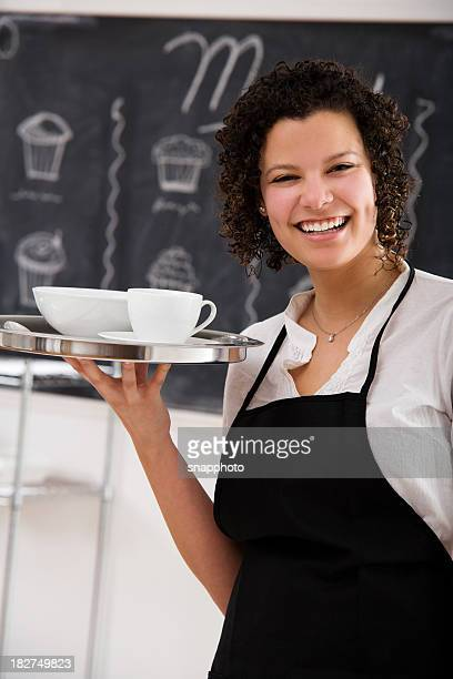 Pretty Server Holding Tray