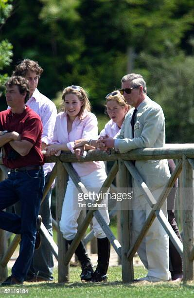Pretty Tamara Drax Joins Tiggy Petifer Formerly Leggebourke Harry's Exnanny To Watch Prince Harry Captain England Schools Polo Team At The...