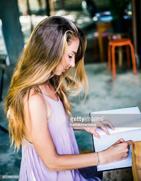 Pretty women coloring book