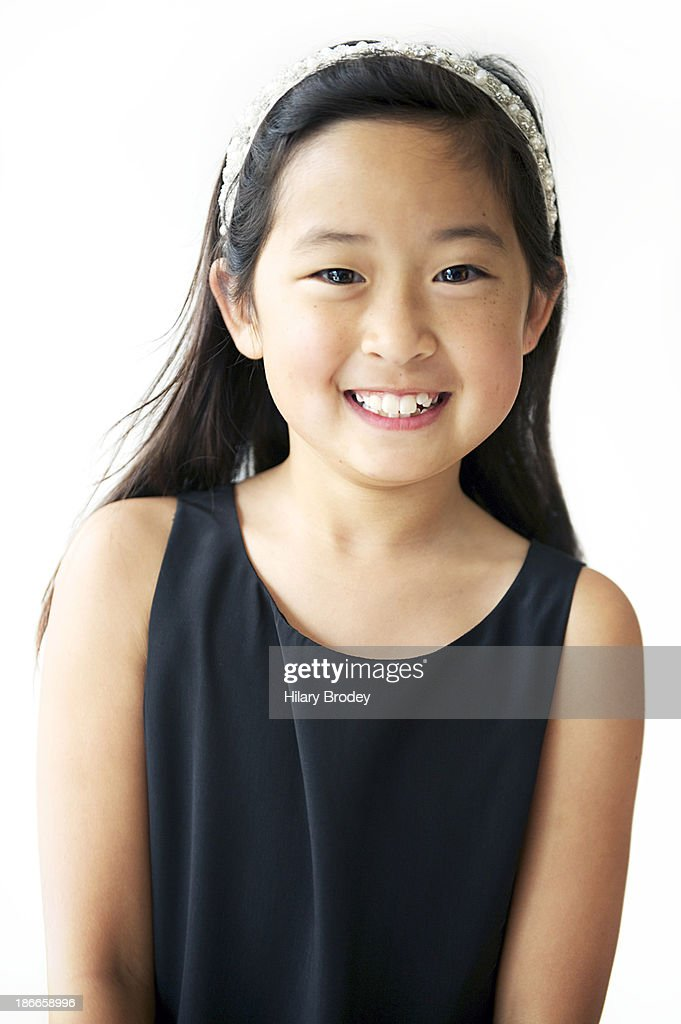 models Asian young girl