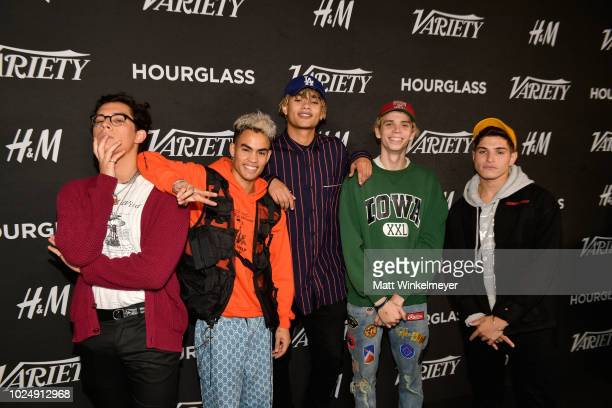 PrettyMuch attends Variety's annual Power of Young Hollywood at Sunset Tower Hotel on August 28 2018 in West Hollywood California