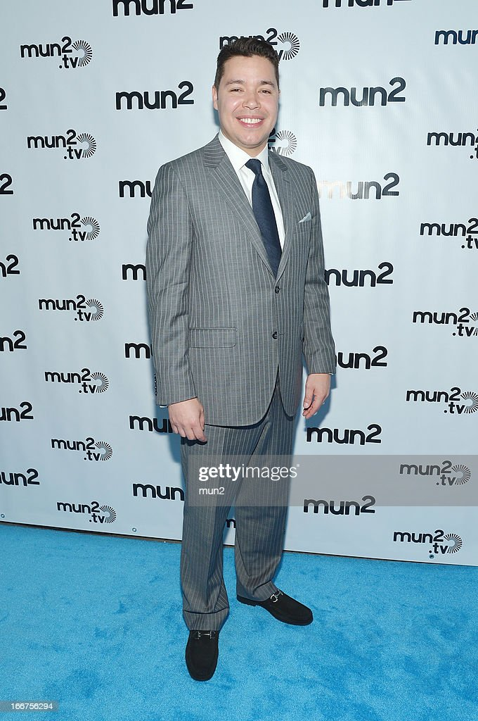 MUN2 - EVENTS -- Pre-Upfront Press Conference -- Pictured: MUN2 Senior V.P. of Sales Joe Bernard --