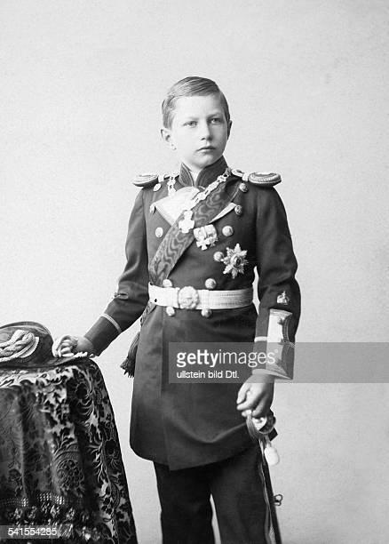 Preussen Adalbert von Prinz von Preussen*14071884son of Wilhelm IIportrait as a child Photographer Eugen Kegel 1894Vintage property of ullstein bild