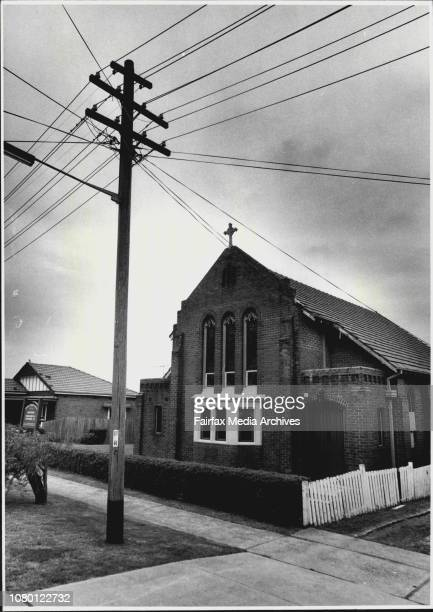 Preview of Anglican Synod.St. Nicholas Aglican Church, Daisy St. Croydon Park. October 06, 1986. .