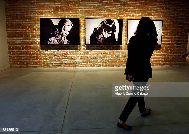 Preview of 'Mapping The Studio' during the press preview of the opening of the new contemporary art centre - Francois Pinault Foundation, at Punta...