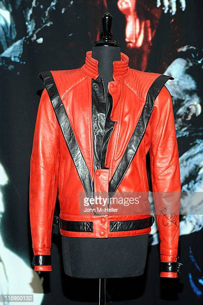 A preview of Michael Jackson memorabilia at Julien's Auction House on June 12 2011 in Beverly Hills California