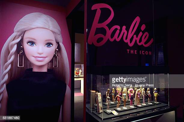 Preview of the exhibiton 'Barbie the Icon' at Palazzo Albergati on May 17 2016 in Bologna Italy
