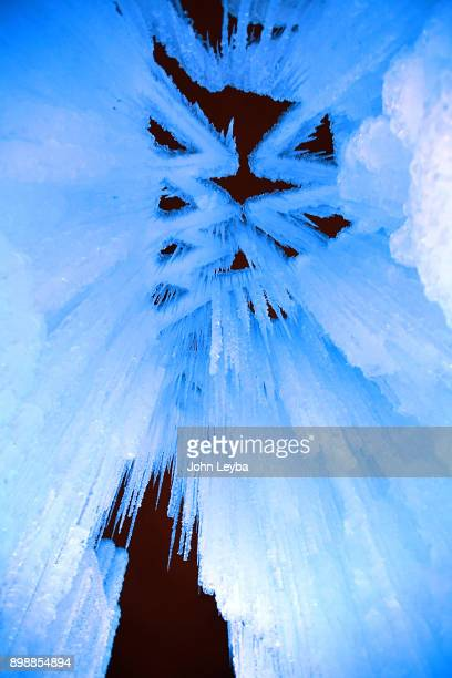 A preview of the Ice Castle at Dillon Town Park on December 26 2017 in Dillon Colorado before its officially opening later in the week The acresized...