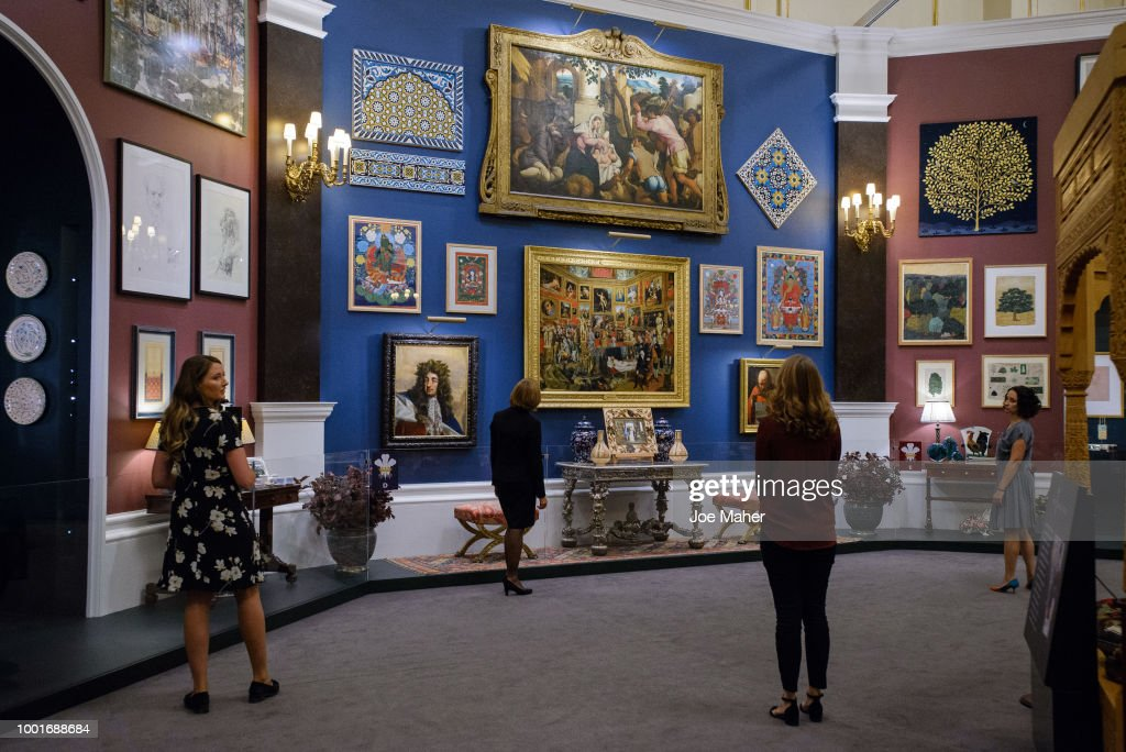 Buckingham Palace 'Prince & Patron' Exhibition Photocall : News Photo