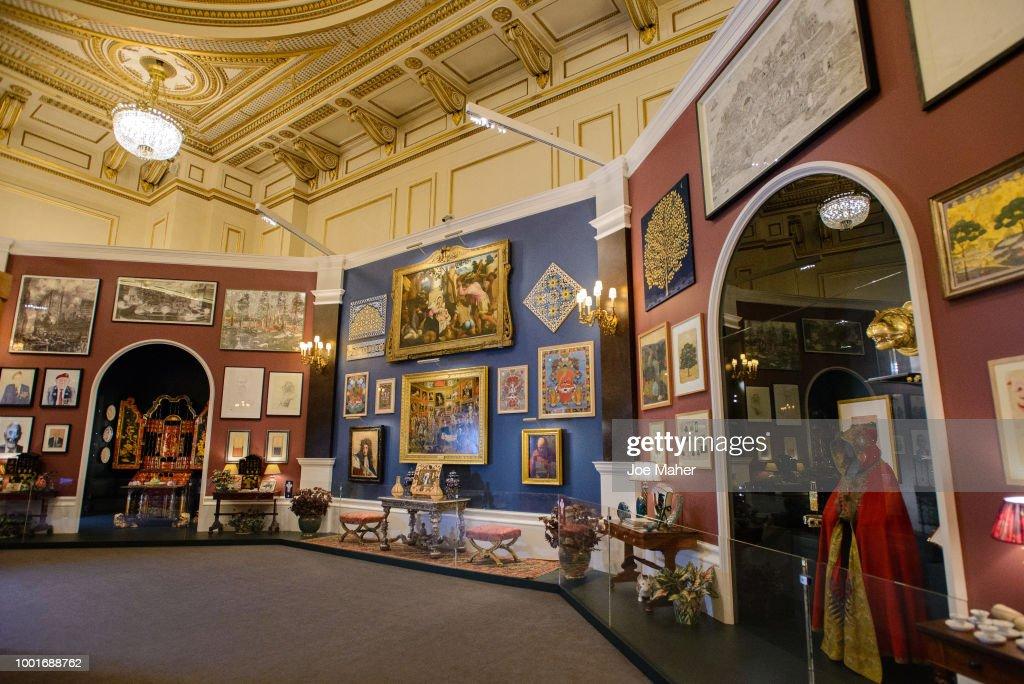 Buckingham Palace 'Prince & Patron' Exhibition Photocall : News Photo