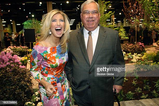 Preview Party for the Boston Flower and Garden Show held at the Seaport World Trade Center benefitting Fund for Parks and Recreation From left to...