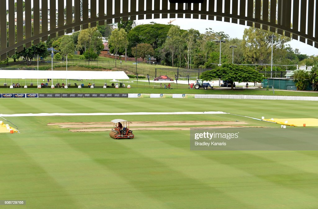 Sheffield Shield Final - Queensland v Tasmania: Day 1