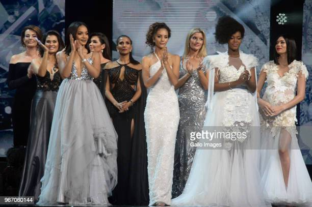 Previous Miss SA title holders came together to celebrate the legacy of the brand and usher in the new generation of Miss SA during the Miss SA 2018...