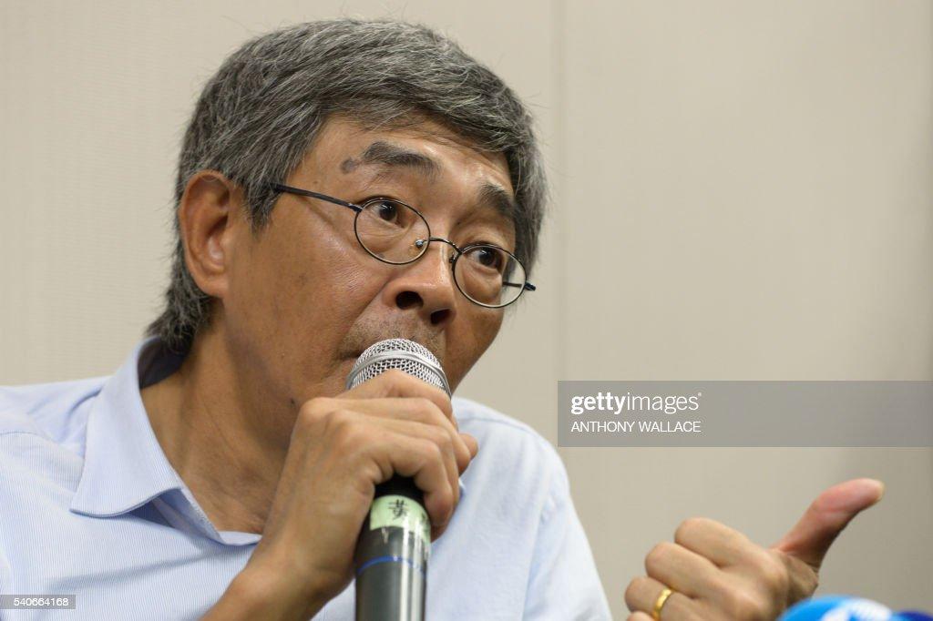 HONG KONG-CHINA-POLITICS-BOOKSELLERS-CENSORSHIP : News Photo