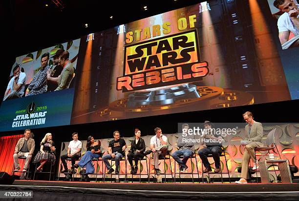 "Previously undisclosed ""Star Wars Rebels"" information and video was revealed to fans of the Disney XD animated series by its cast and executive..."