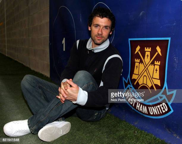 of West Ham United's Christian Dailly during a photocall at the Chadwell Heath Training Ground London