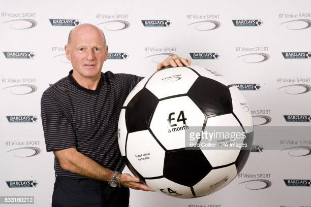 Previously unissued photo dated of former Scotland international Archie Gemmill launching BT Vision Sport at the Hope Street Hotel Liverpool