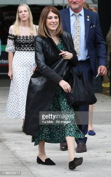 Previously unissued photo dated 20/05/19 of the Duke of York's private secretary Amanda Thirsk at the RHS Chelsea Flower Show at the Royal Hospital...
