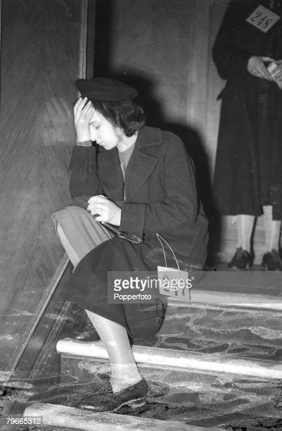 PreWorld War II 12th December 1938 502 children refugees from Vienna arrived at Harwich on the steamer 'The Prague' to be taken by special train to...