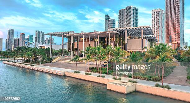 pérez art museum miami (pamm) - county stock pictures, royalty-free photos & images