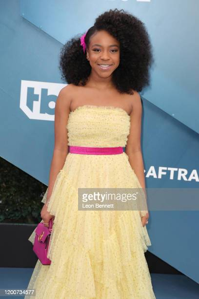 Priah Ferguson attends 26th Annual Screen Actors Guild Awards at The Shrine Auditorium on January 19 2020 in Los Angeles California