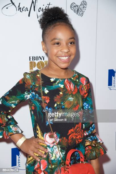 Priah Ferguson attends Ebony Magazine's Ebony's Power 100 Gala at The Beverly Hilton Hotel on December 1 2017 in Beverly Hills California