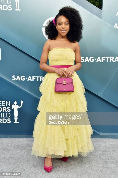 Priah Ferguson attends the 26th Annual Screen ActorsGuild Awards at The Shrine Auditorium on January 19 2020 in Los Angeles California 721430