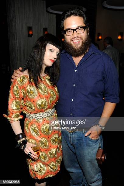 Price Latimer Agah and Maximillian Chow attend ABY ROSEN PETER BRANT ALBERTO MUGRABI Dinner at W SOUTH BEACH at W SOUTH BEACH on December 3 2009 in...