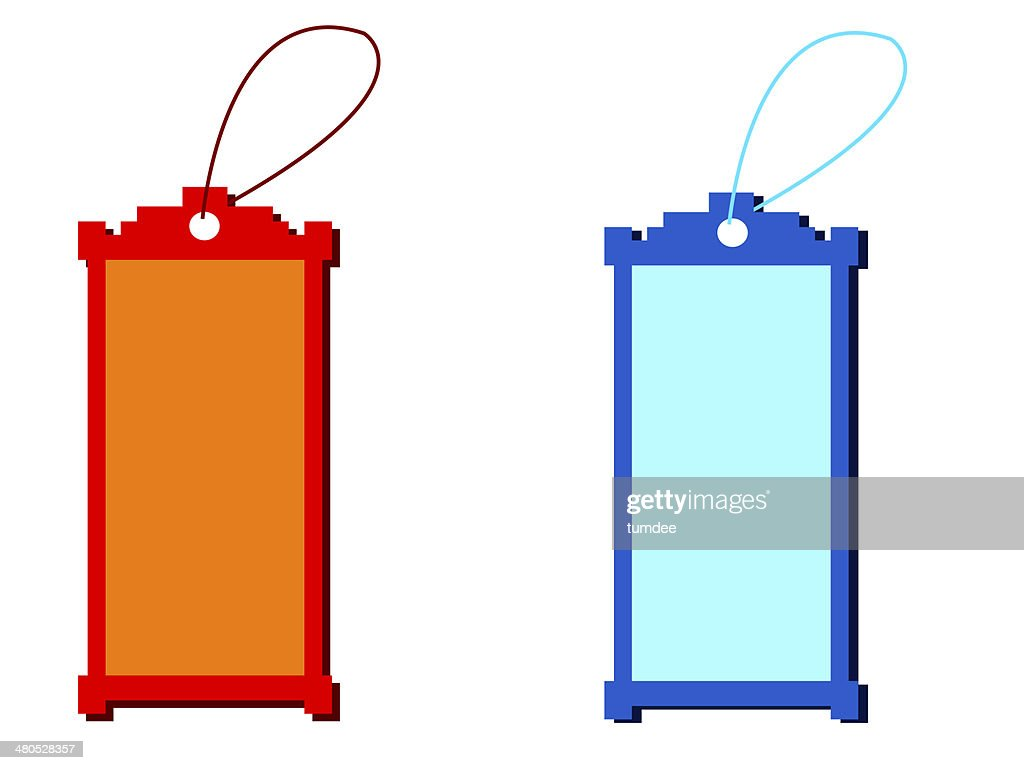 Price tag with blank background : Stock Photo