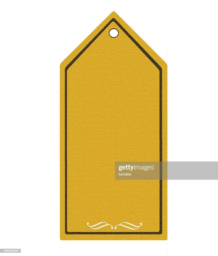 Preisschild mit leeren Hintergrund. : Stock-Foto